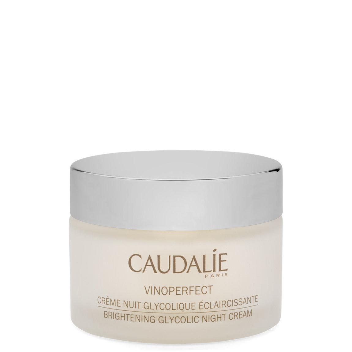 Caudalie Vinoperfect Brightening Glycolic Night Cream product swatch.