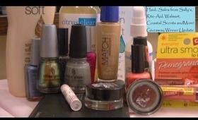 Haul...Sally's, Rite-Aid, Avon, Coastal Scents & More w/ Giveaway Winner Info