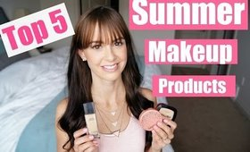 Top 5 Summer Makeup Products!