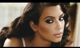 Kim Kardashian New Perfume True Reflection Ad Inspired Makeup Tutorial