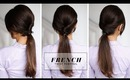 French Twist Ponytail