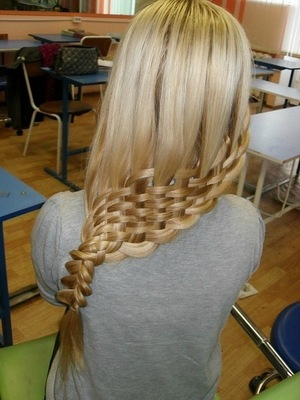 basket weaving braid