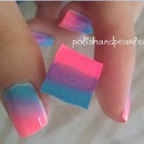 One Step Ombre Nails