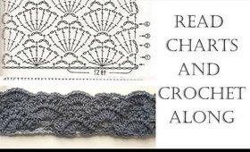 Read Crochet Chart and Crochet Along