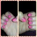 Princess glitter nails