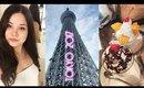 Japan Vlog 7    Tokyo Skytree, Asakusa, Religion & Room Tour ♡ 2017