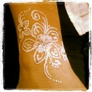 Glitter Tattoo for a Bride