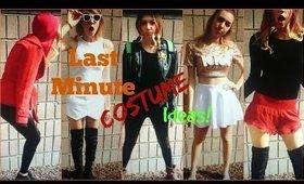 9 Last Minute Halloween Costume Ideas!
