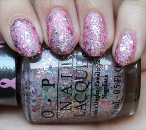 See my in-depth review & more swatches here: http://www.swatchandlearn.com/opi-more-than-a-glimmer-swatches-review-layered-over-opi-pink-ing-of-you-also-from-the-opi-pink-of-hearts-2013-set/