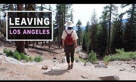 Leaving L.A. 💔Mammoth travel vlog | Serein Wu