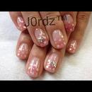 Polka Pink Stars