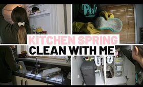 KITCHEN SPRING CLEAN WITH ME MOTIVATION 2020 UK | PART 2