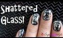 Shattered Glass Nails DIY | No Tools Nail Art | SuperWowStyle