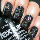 China Glaze Monsters Ball manicure