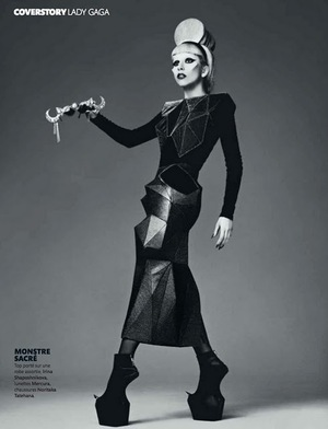 madame FIGARO 2011 - Lady Gaga by Mariano Vivanco 05