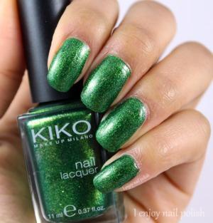 http://www.ienjoynailpolish.com/2016/04/kiko-pearly-golden-green.html