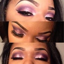 Pinks purples and a sprinkle of glitter