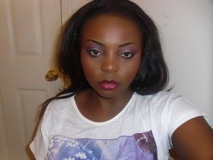 just playing around with my make up, i was sooooo bored