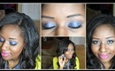 Easy Blue Eyeshow Tutorial (Women of Color Friendly)
