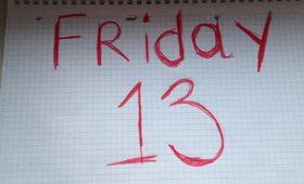 "Manicure ""Friday 13"""