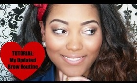 TUTORIAL: My Updated Eyebrow Routine Using Drugstore Products