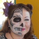 Half Day of the Dead, and half natural glamour.
