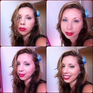 Montage of me.
