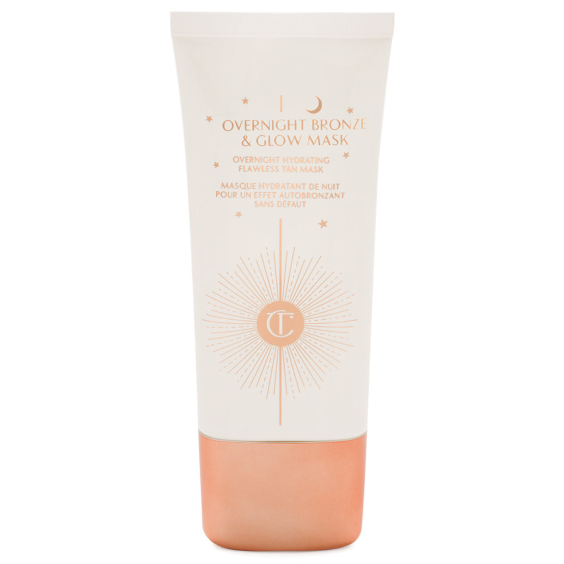 Charlotte Tilbury Overnight Bronze and Glow Mask product smear.