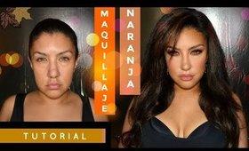 Maquillaje en tonos CALIDOS PARA OTOÑO+ SORTEO / Warm Autumn makeup tutorial   auroramakeup
