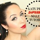 Katy Perry Superbowl Inspired Makeup