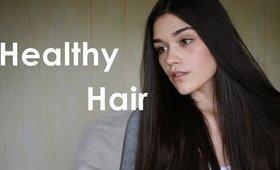 Healthy and Shiny Hair Secret