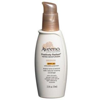 Aveeno Positively Radiant Tinted Moisturizer SPF 30