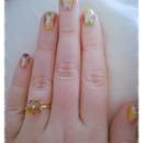 multicolors nails