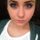 Violett eyelashes