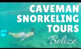 Caveman Snorkeling Tours Caye Caulker   Belize Travel Vlog Days 2 & 3