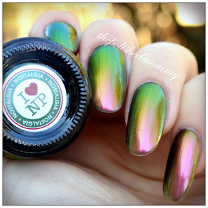 Swatch and review on the blog: http://www.thepolishedmommy.com/2014/03/ilnp-nostalgia.html  #ILNP #swatch #purchasedbyme #multichrome