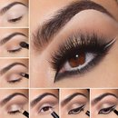 Brown Eye Makeup Tutorial ;)