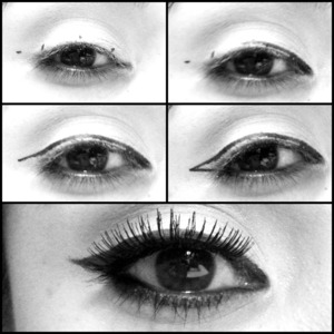 how to easily get a winged tip eyeliner.   www.LadyArtLooks.com for your daily dose on beauty, makeup tutorials, hair, and makeup looks from alanadawn.   Instagram: AlanaDawn youtube.com/ladyart7 www.ladyartlooks.com www.alanadawn.com