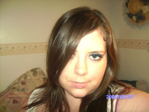 this is one of my fav. pics of myself. I'm also wearing lancome eye shadow and blush