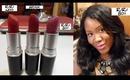 Giveaway Alert   Win Mac Heaux! Plus  RiRi Woo, Heaux and RIRI Boy Lipsticks Show & Tell