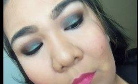 Edgy Holiday/ Dramatic Daytime Makeup