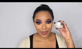 Purple Spider| Halloween Makeup | leiydbeauty