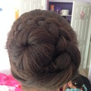 Spiral Braid and Bun