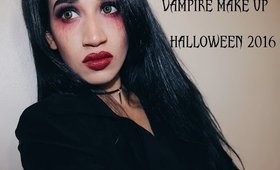 Vampire Halloween 2016 Make Up Look | Dark Night Tutorial| Last Minute| CillasMakeup88
