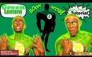 Justice League: Green Lantern Body Paint Tutorial (NoBlandMakeup)