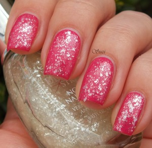 Sally Hansen Diamond Streght, 330 Fuchsia Bling Bling + 150 Glass Slipper