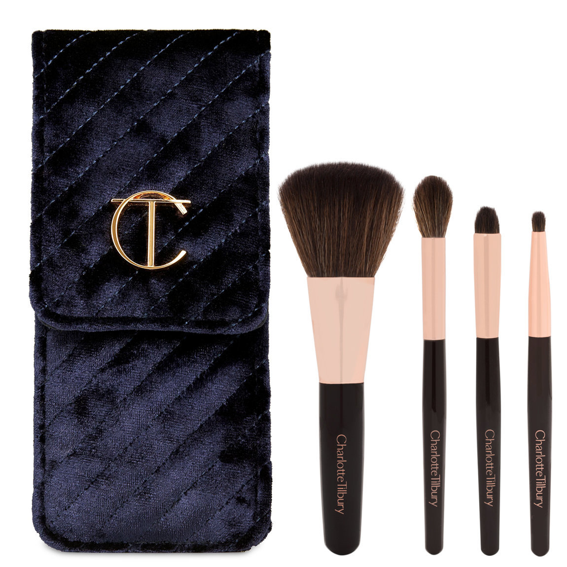Charlotte Tilbury 3rd Edition Magical Mini Brush Set product swatch.