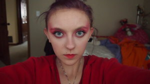 Today I did this look based off the cover of Martha Stewart Magizine!
