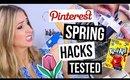 Pinterest Hacks TESTED #10 || Spring Decluttering, Organizing & Cleaning Hacks!