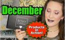 December Boxy Charm | Products in Action!